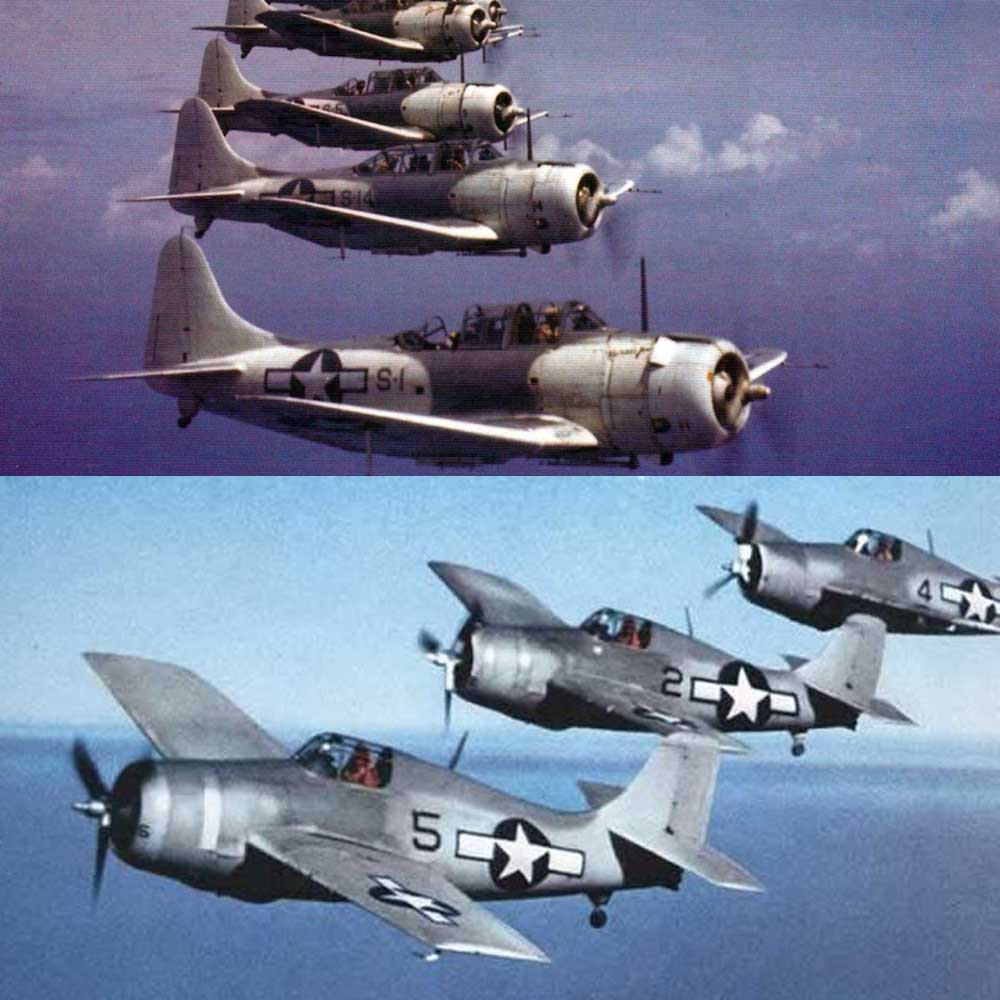 Set US Navy ASWI e ASW II (Patrulha Anti - Submarinos)