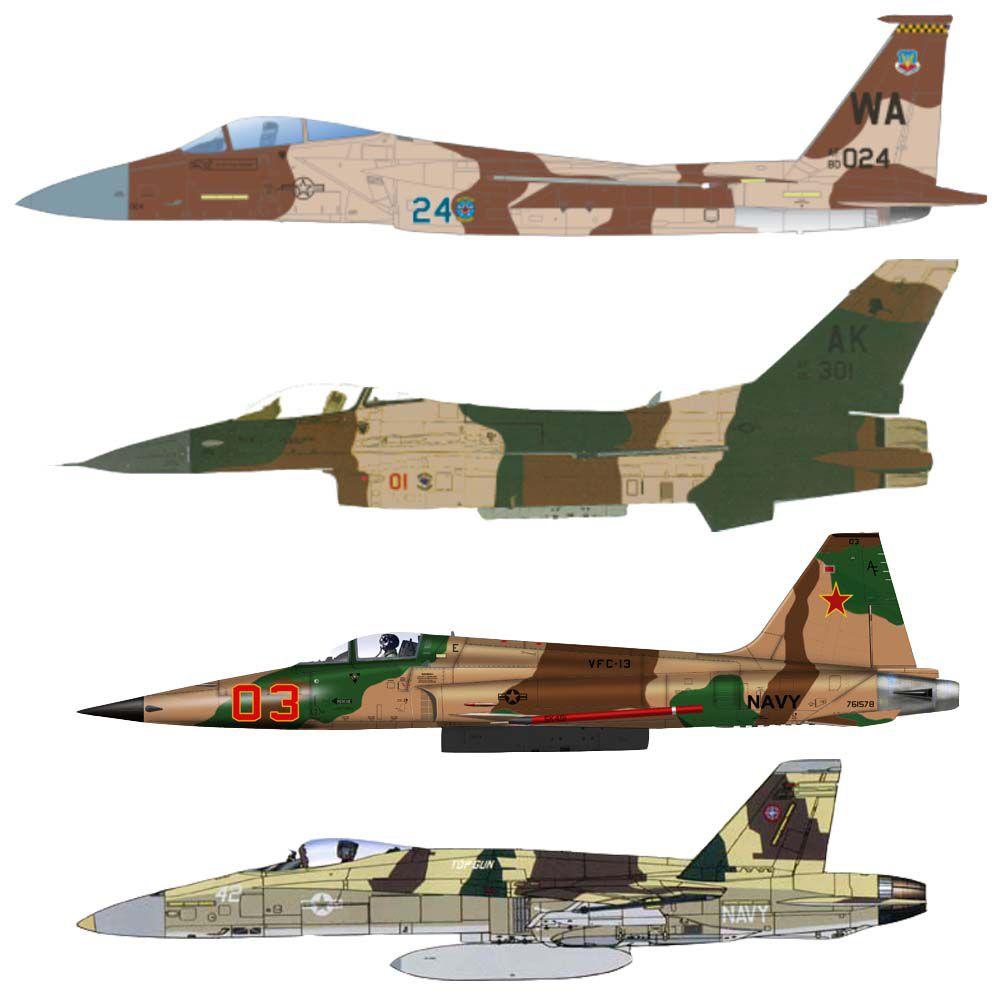 Set USAF Agressor Desert