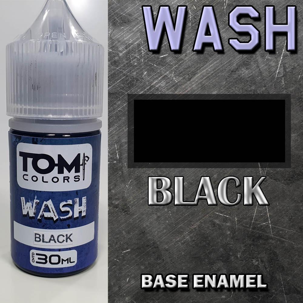 Wash Esmalte BLACK