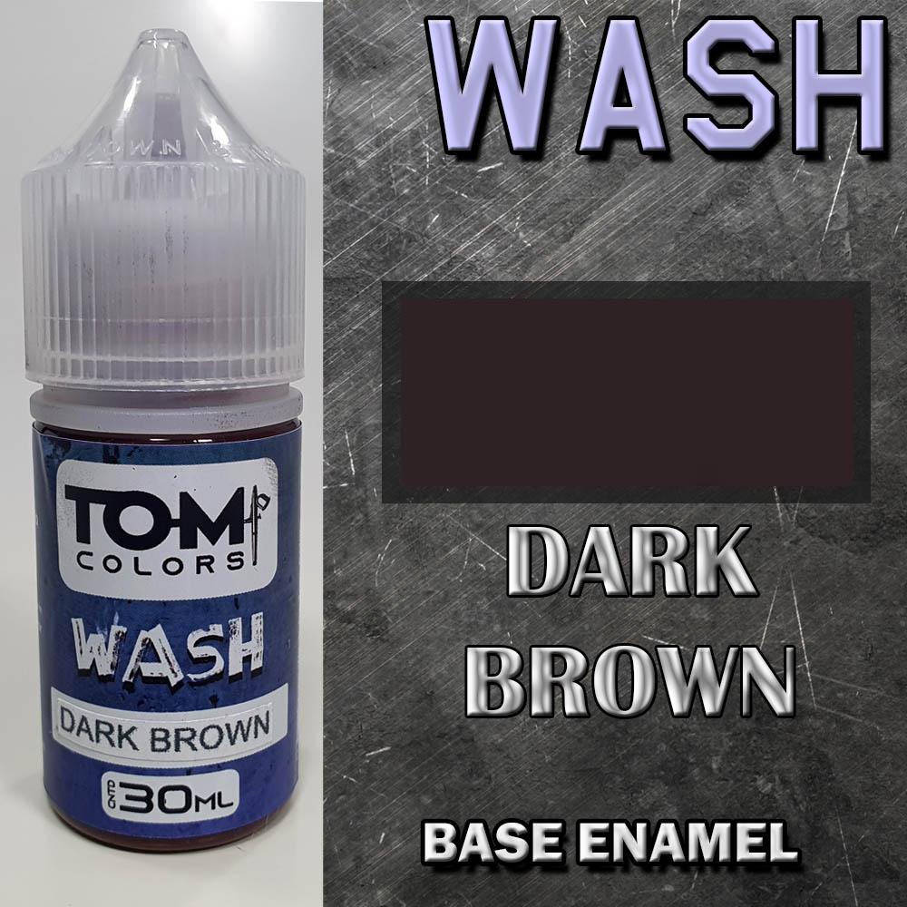 Wash Esmalte DARK BROWN