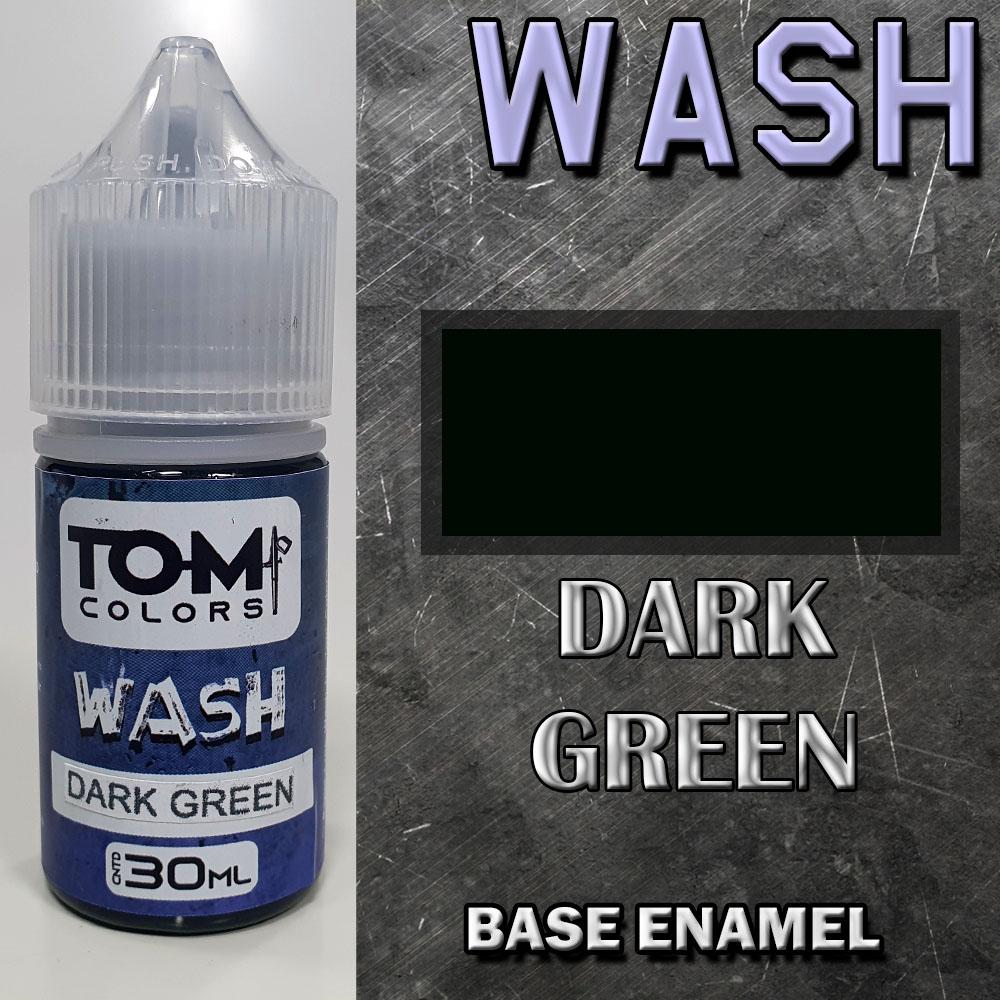 Wash Esmalte DARK GREEN