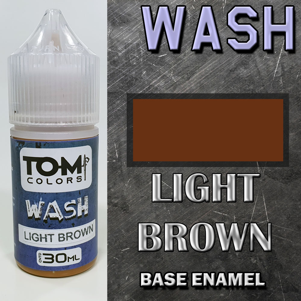 Wash Esmalte LIGHT BROWN