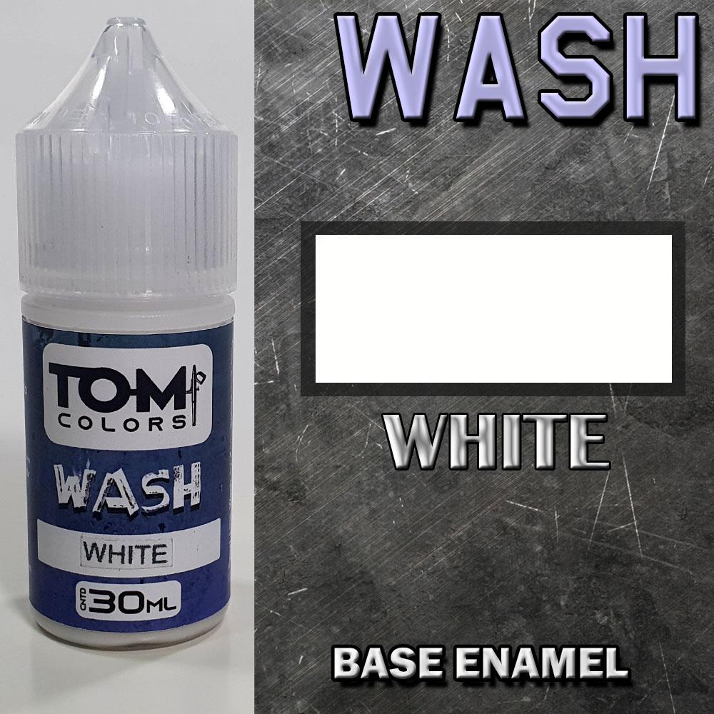 Wash Esmalte WHITE
