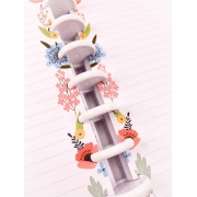 Refil Colorful Flowers Tamanho A5