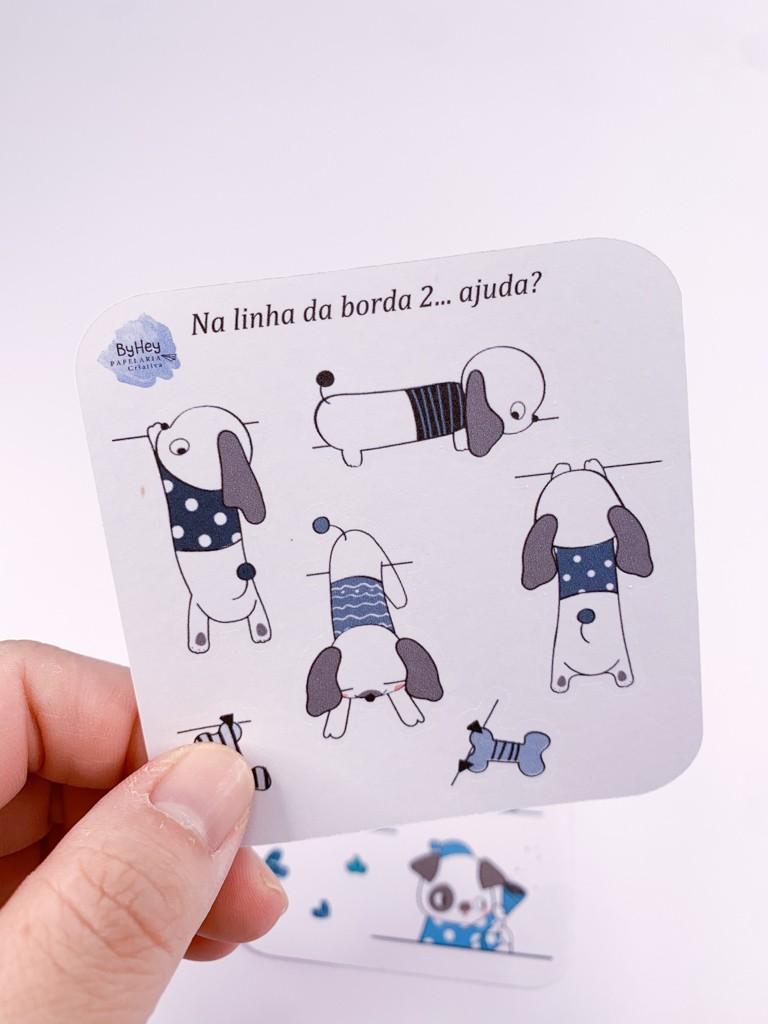 """Adesivos Kit """"na LINHA da Borda"""" - 2 (Mais fofos que nunca...)"""