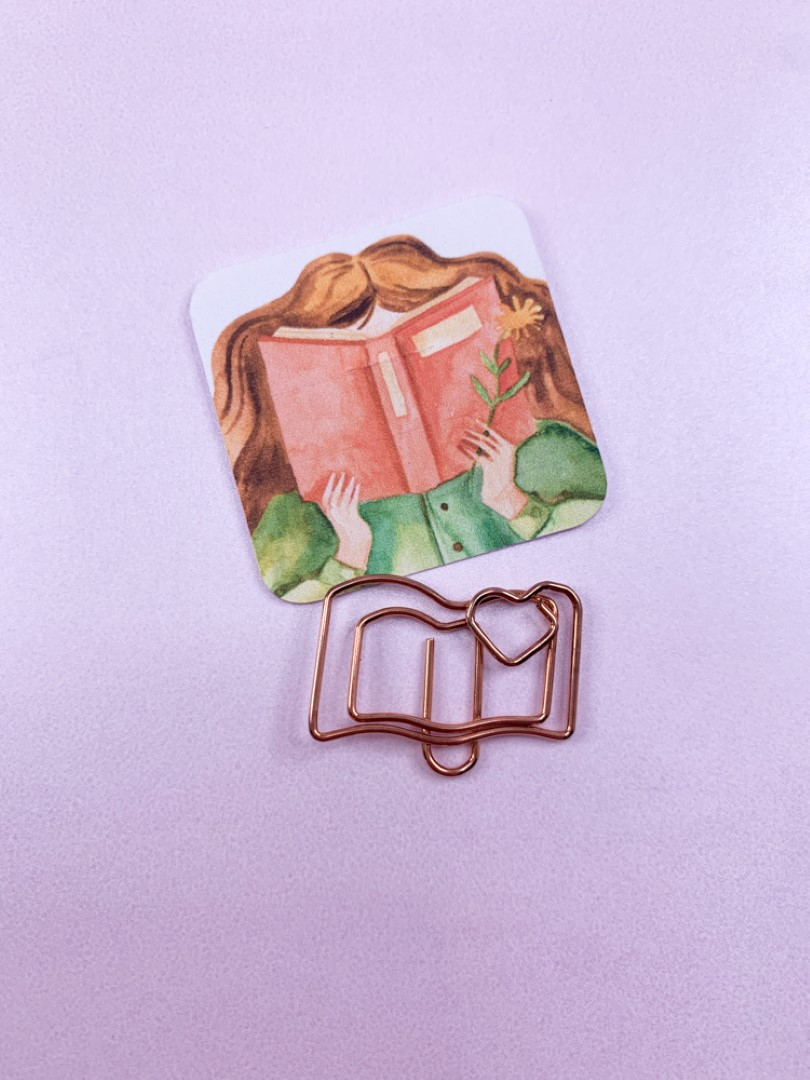 Clips Book Lovers - Livro
