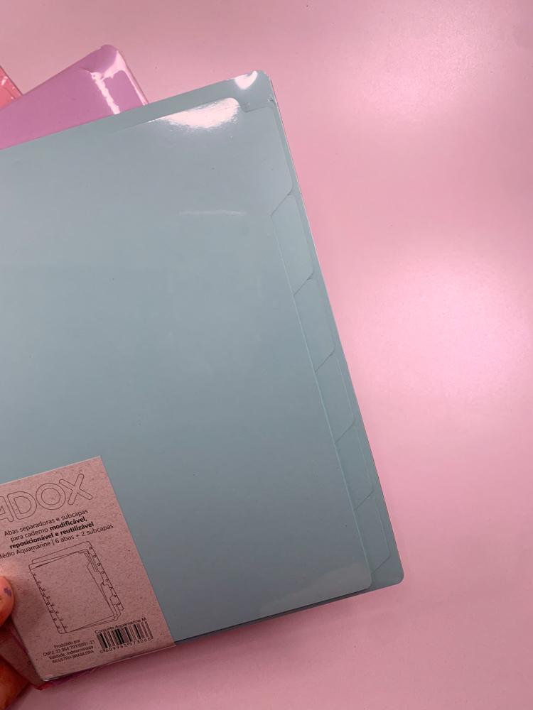 Divisórias Coloridas - Medio (9 furos)