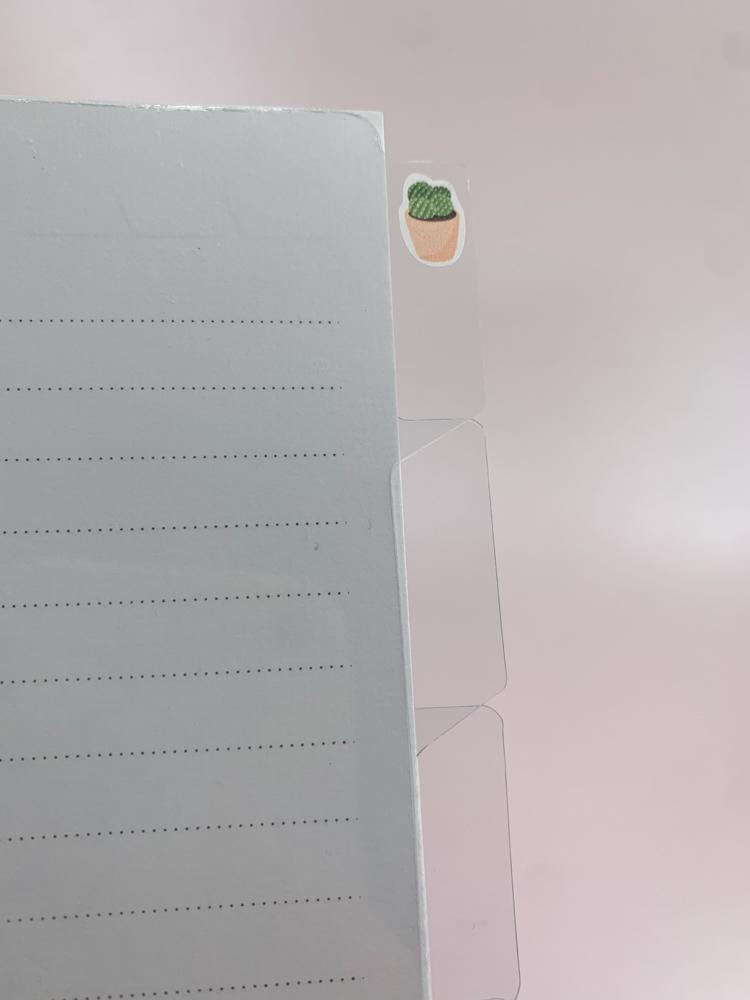 Divisórias Transparentes - Grande, médio e A5
