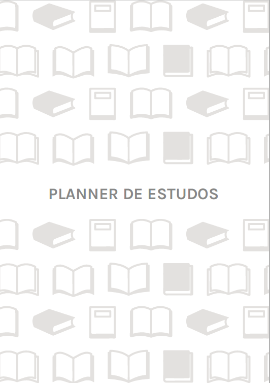 Refil Planner de estudos - A5