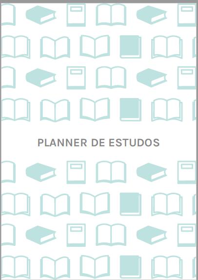 Refil Planner de estudos - Médio