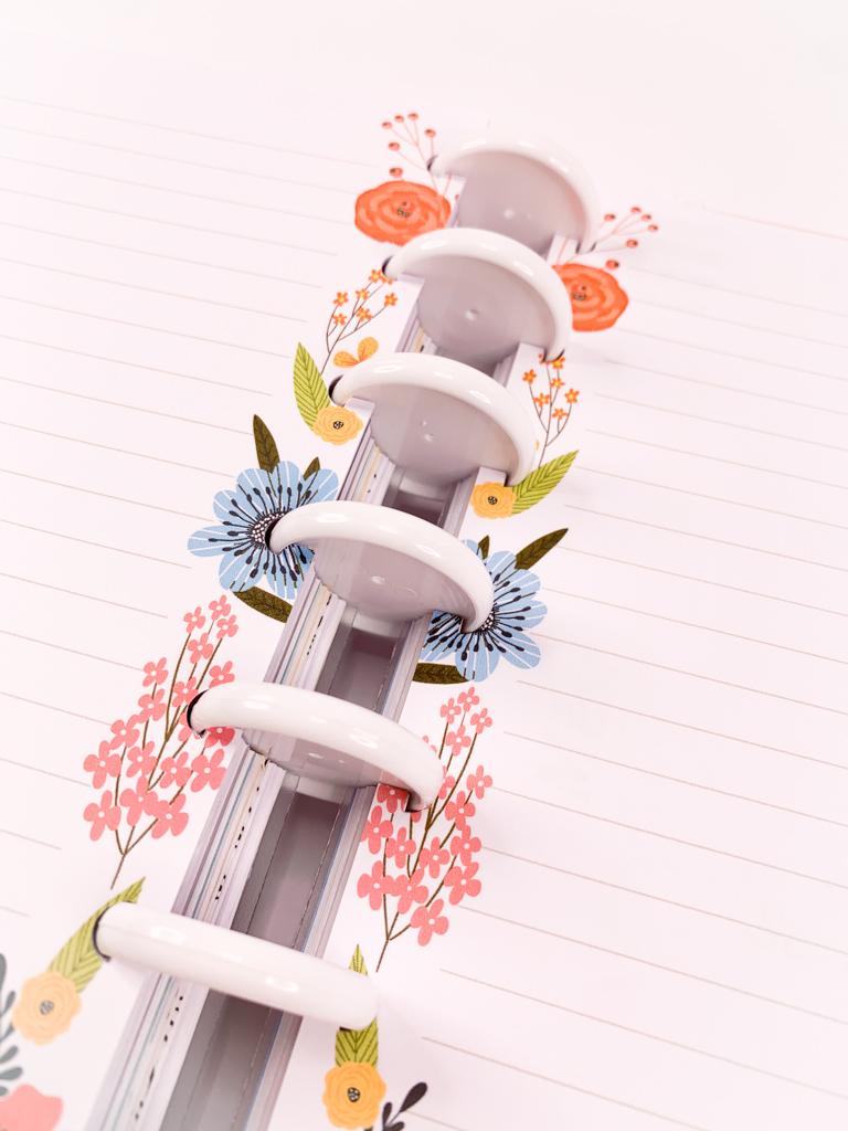 Refil Colorful Flowers - Tamanho Médio
