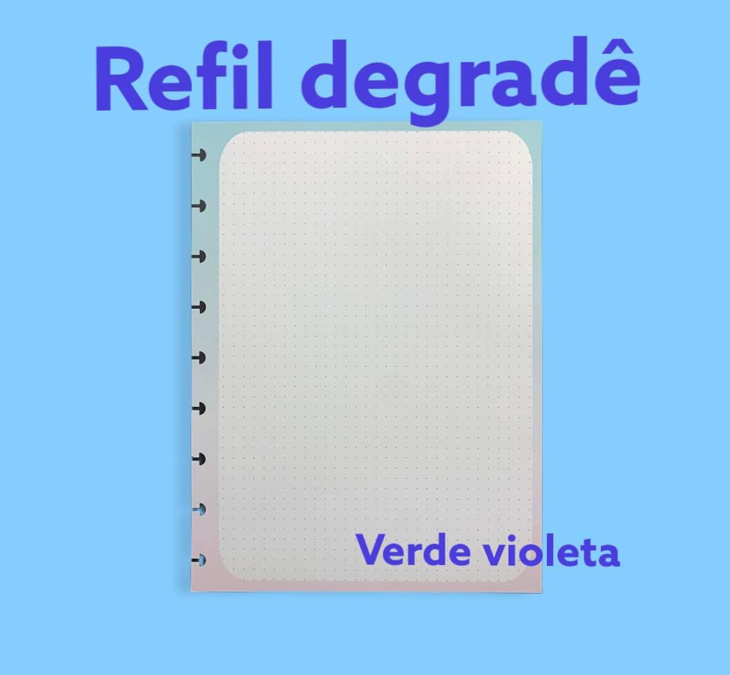 Refil Degrade - A5