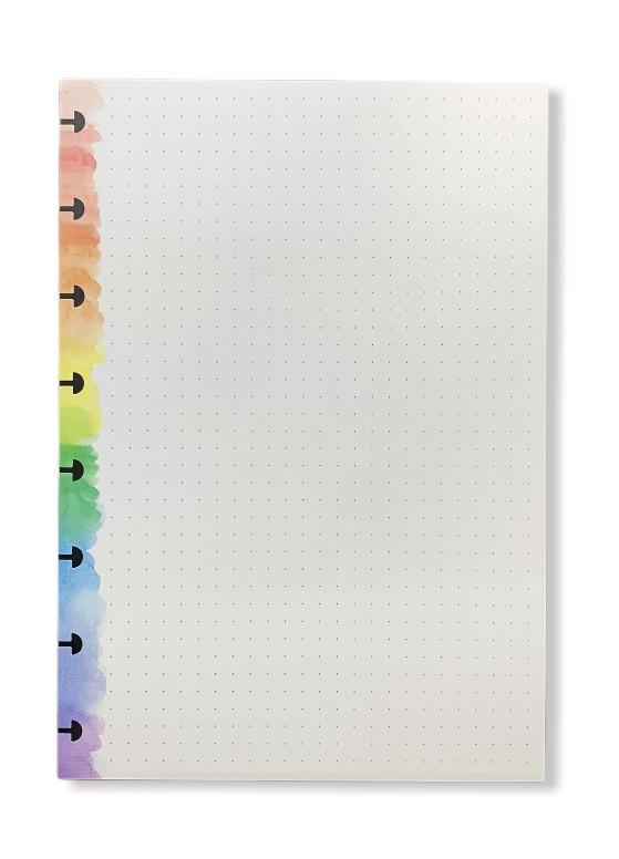 Refil Rainbow A5