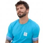 Camiseta Classic OC Stripes Turquesa