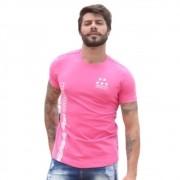 Camiseta OC Lines Star Pink
