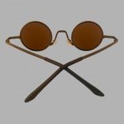Óculos Original Collection Zeus Metal Marrom