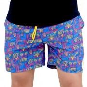 Shorts OC Carranca Azul