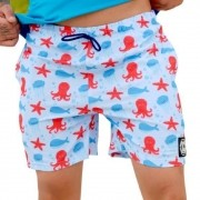 Shorts OC Octopus Azul