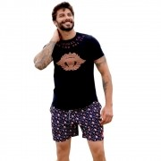 Shorts OC Pirata Preto