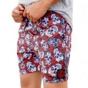 Shorts OC Skull Rose Preto