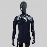 T shirt Confort Original Collection Cancun long Preta