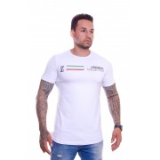 T shirt Confort Original Collection Veneza long Branca