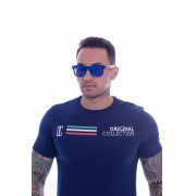 T shirt Confort Original Collection Veneza long Marinho