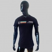 T shirt Confort Original Collection Veneza long Preta
