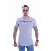 T shirt Confort Original Collection Week long Cinza Mescla