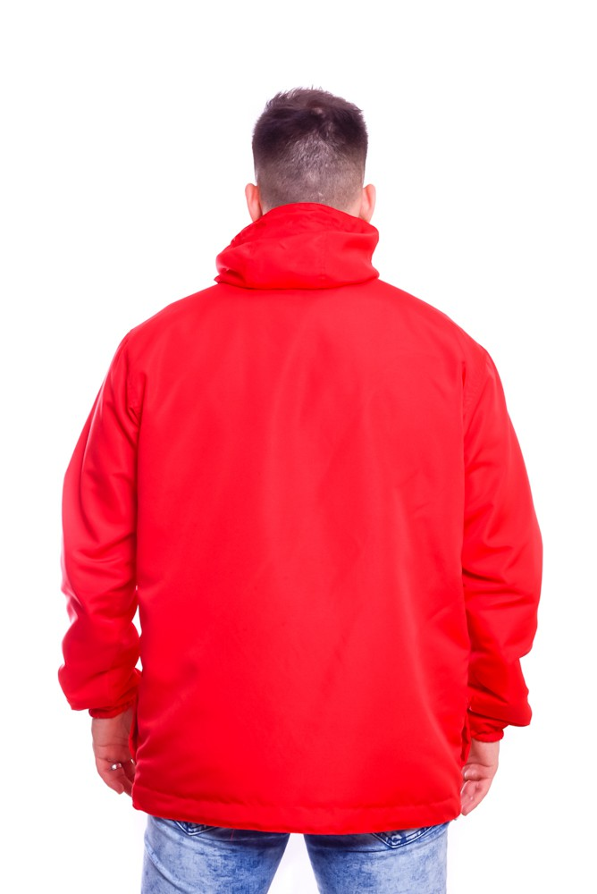 Blusa Corta Vento Anorak Heart Red