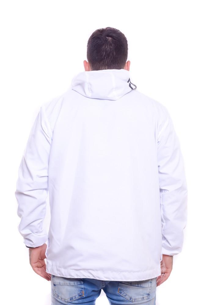 Blusa Corta Vento Anorak Ice White