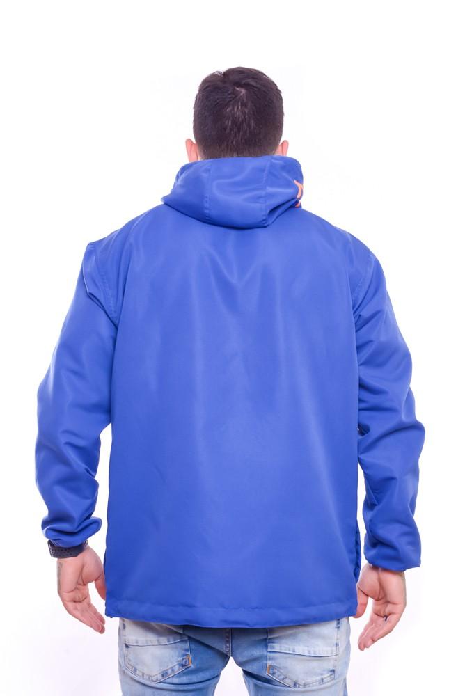 Blusa Corta Vento Anorak Mundi Blue