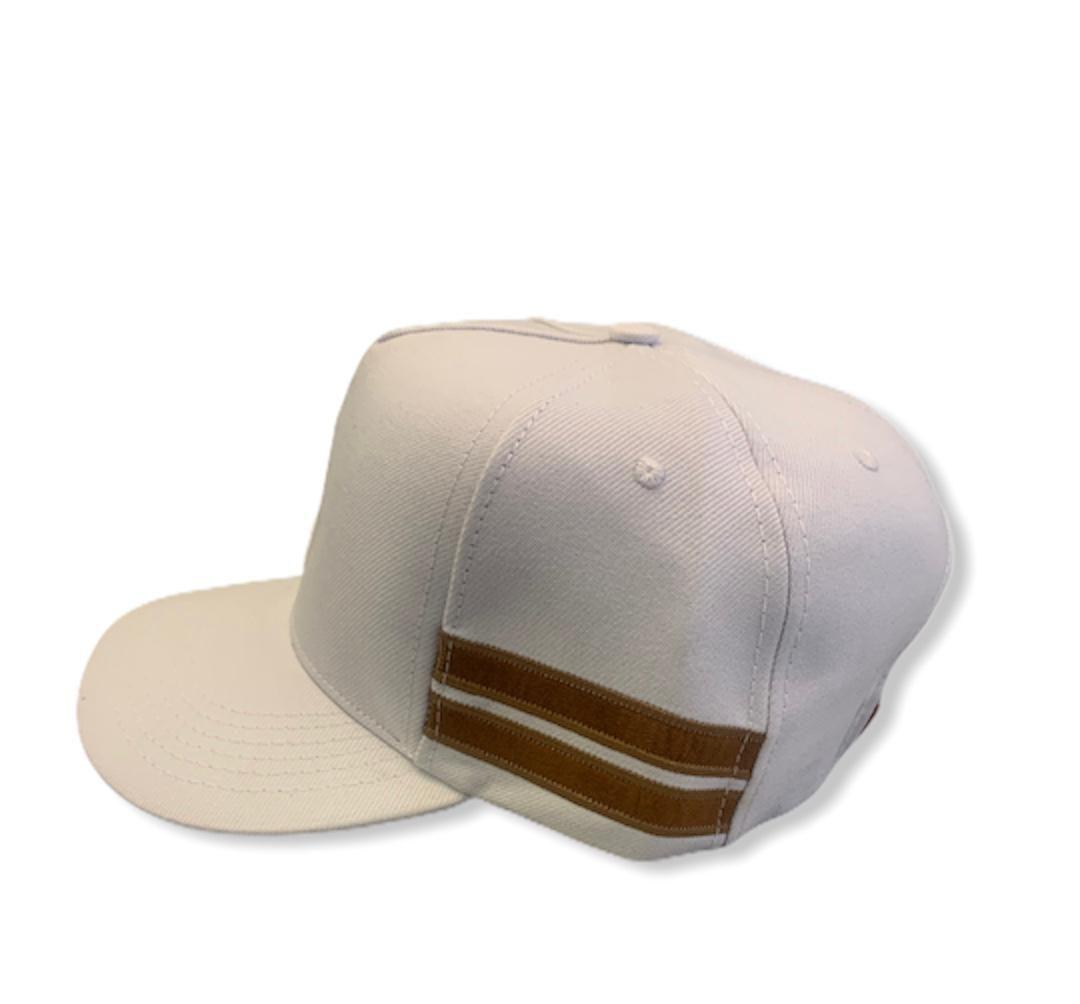 Boné Stripes Branco