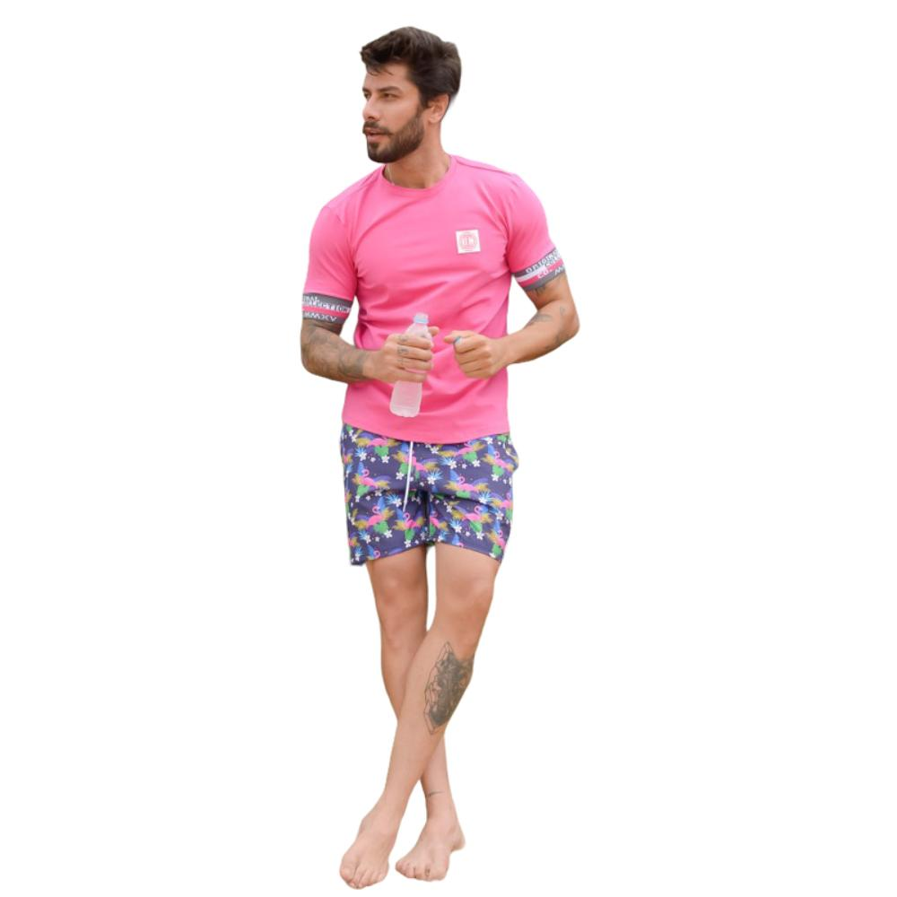 Camiseta Classic OC Arrow Pink