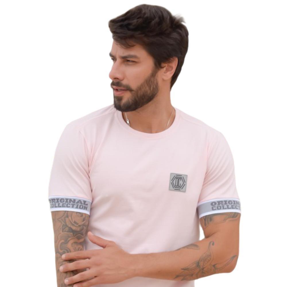 Camiseta Classic OC Check Rosa