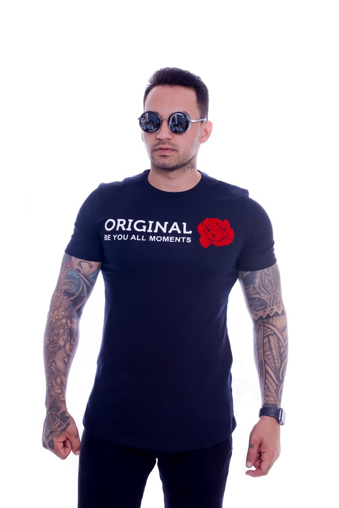 Camiseta Exclusive Original Collection Seja Você long Preto