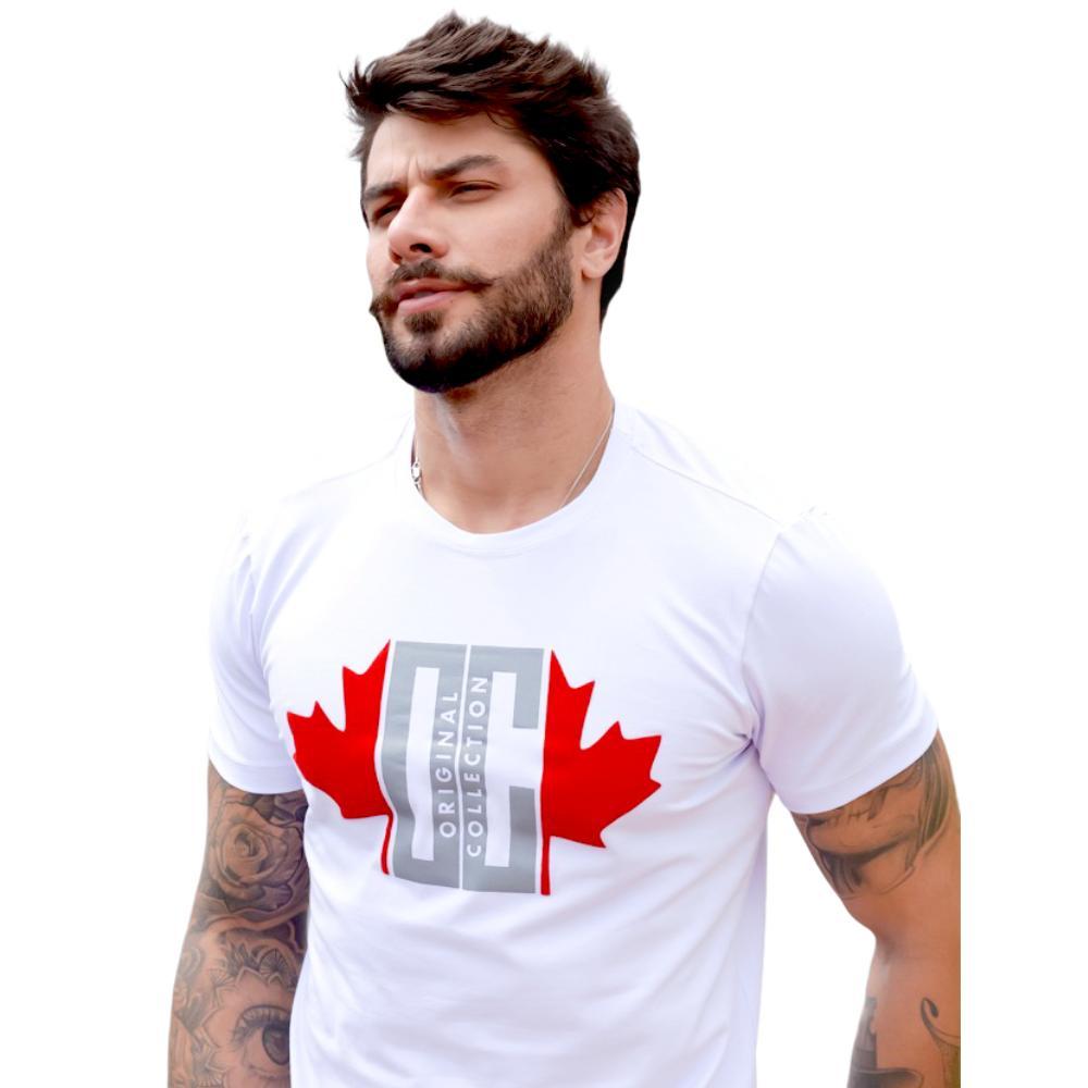 Camiseta OC Quebec Branca