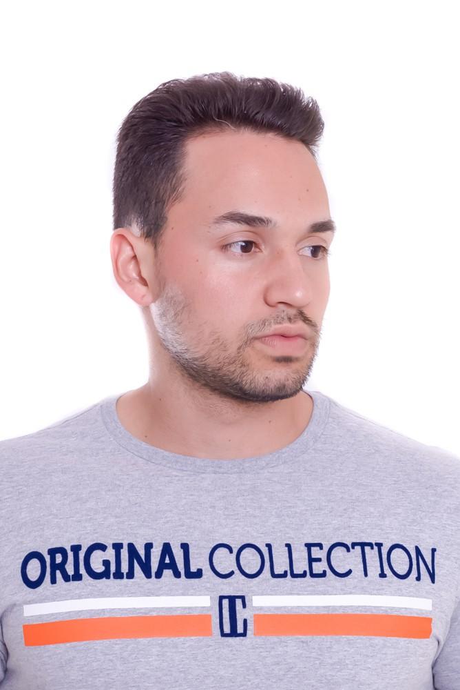 Camiseta Original Collection Confort Oregon Cinza