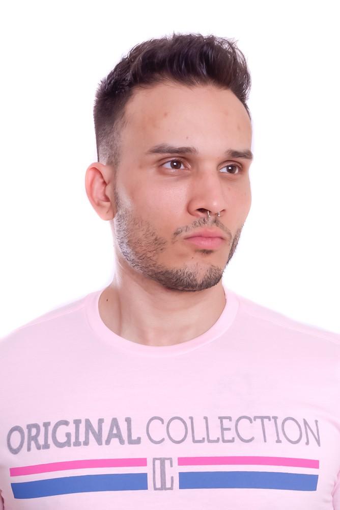Camiseta Original Collection Confort Oregon Rosa