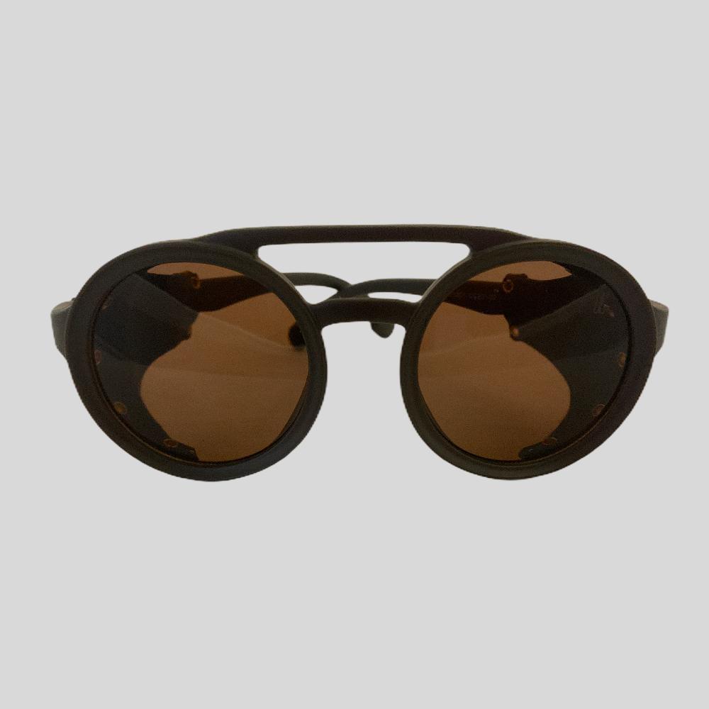 Óculos Original Collection Leather Marrom