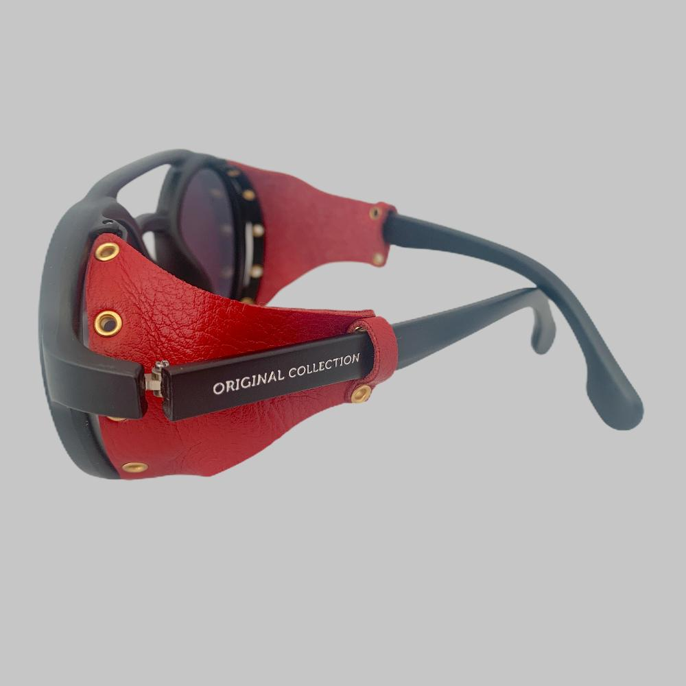 Óculos Original Collection Leather Vermelho