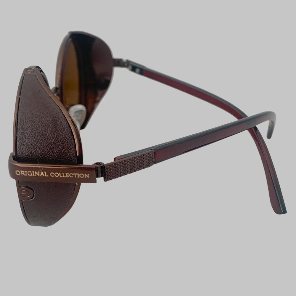 Óculos Original Collection Side Grid Marrom