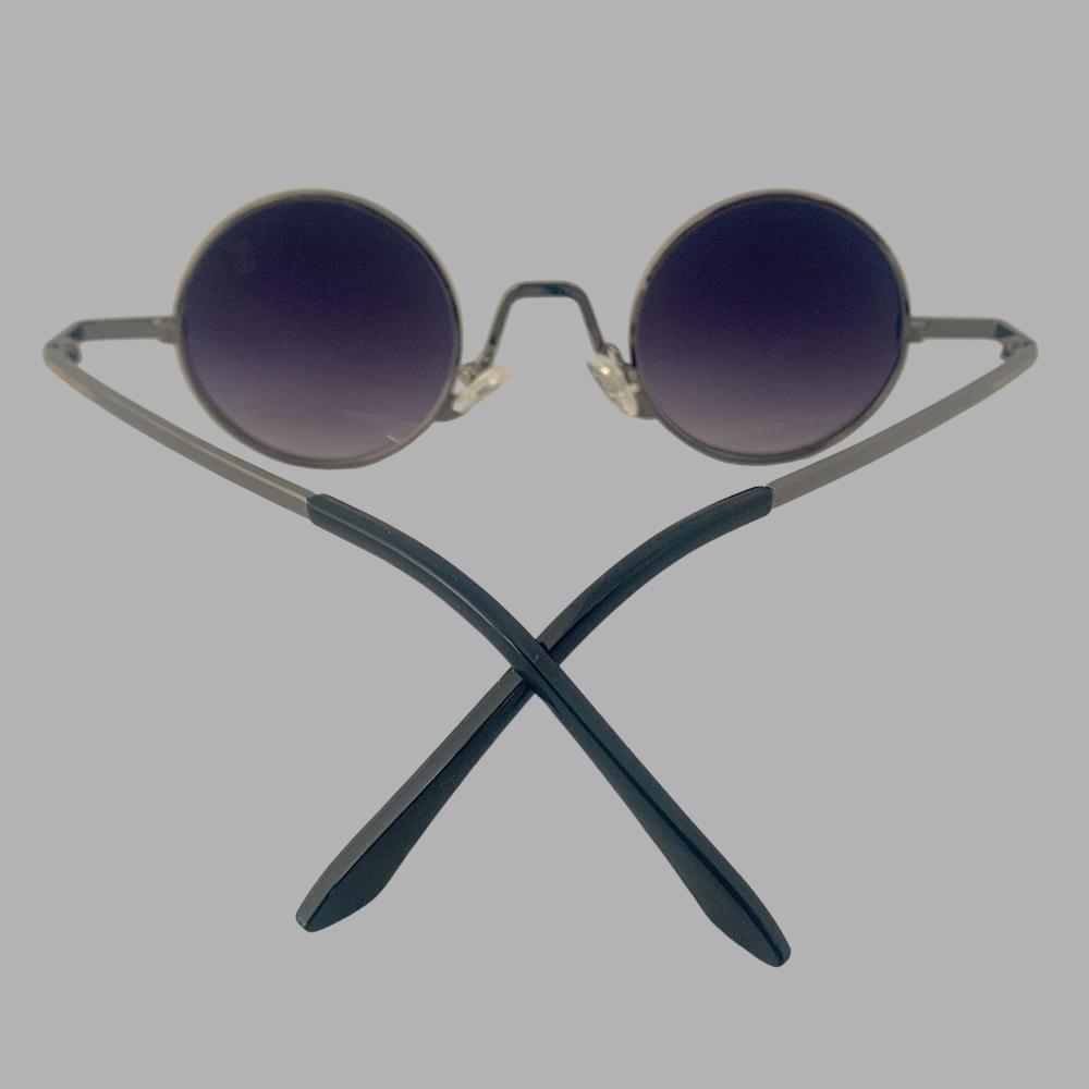 Óculos Original Collection Zeus Metal Preto com Prata