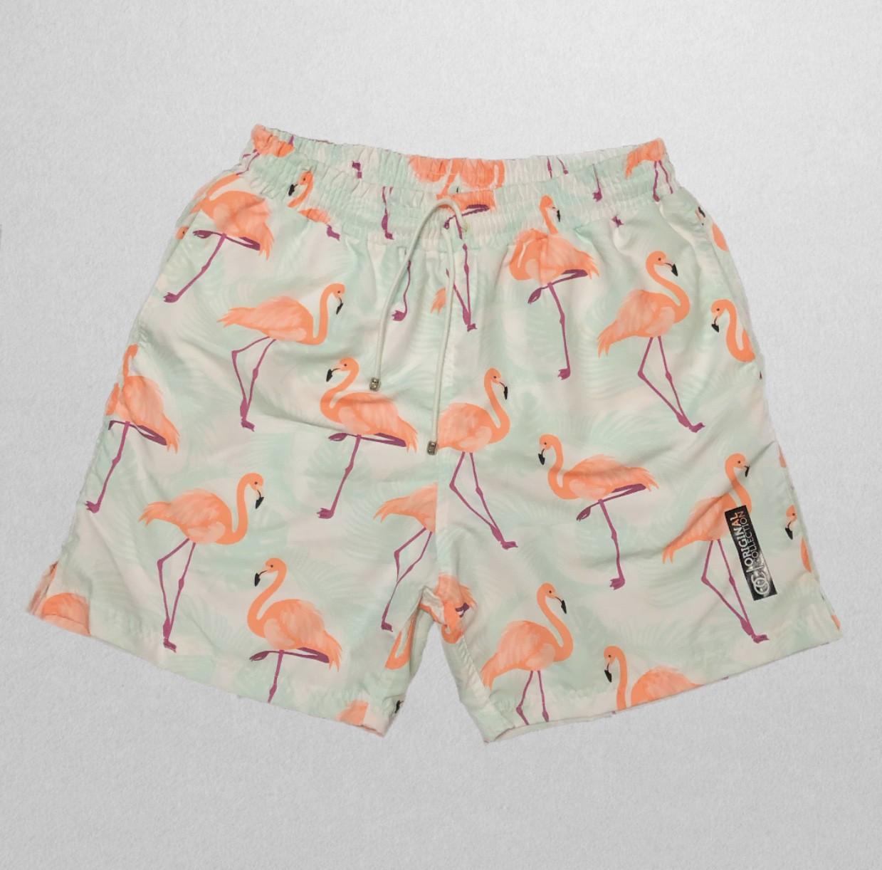 Shorts Flamingo