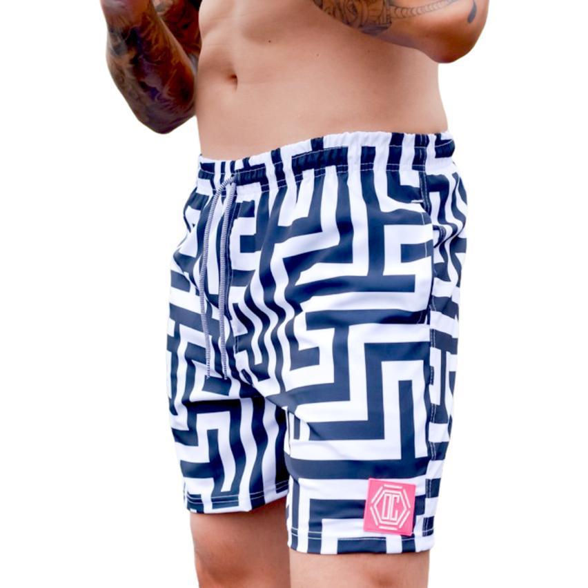 Shorts OC Maze Branco