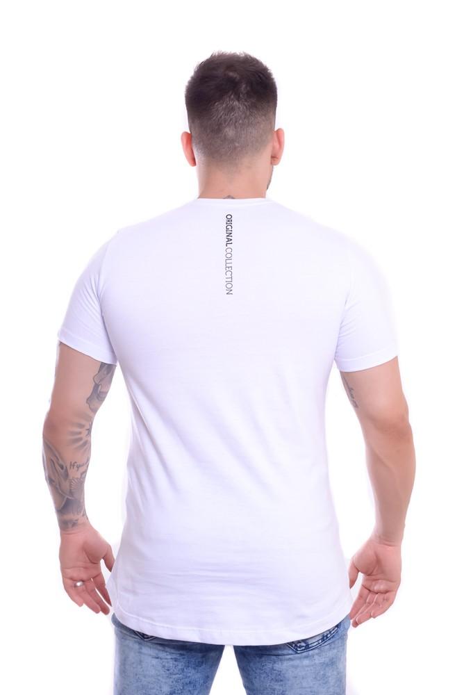 T shirt Confort Original Collection Cancun long Branca