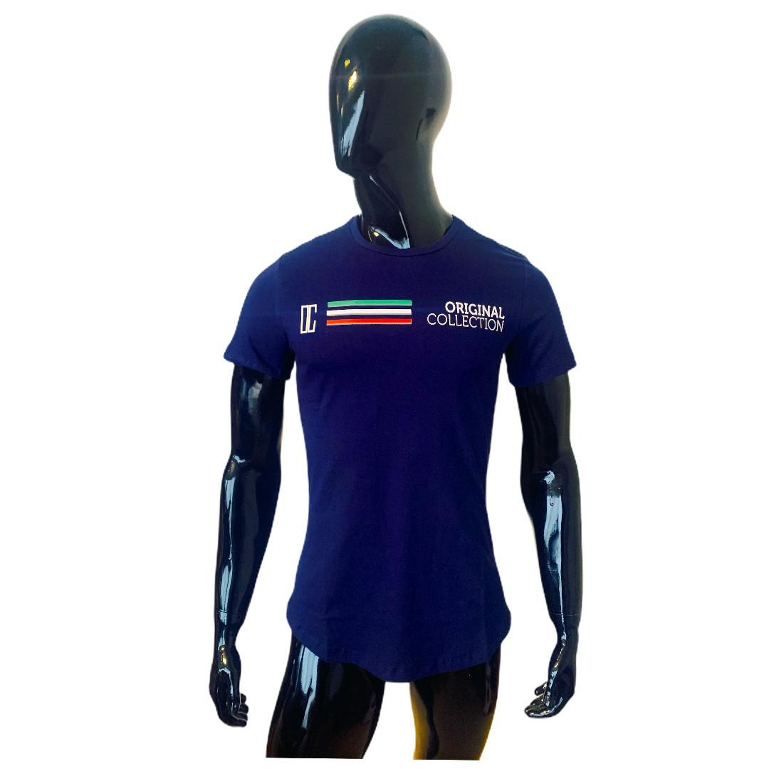 T shirt Confort Original Collection Veneza long Marinho