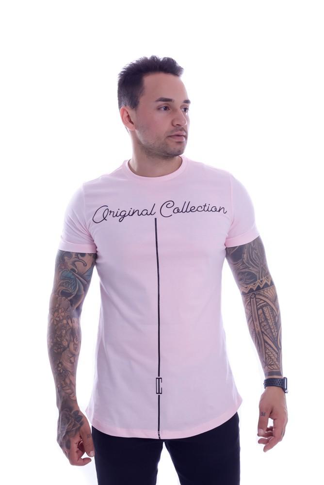Camiseta OC Confort Wing Rosa