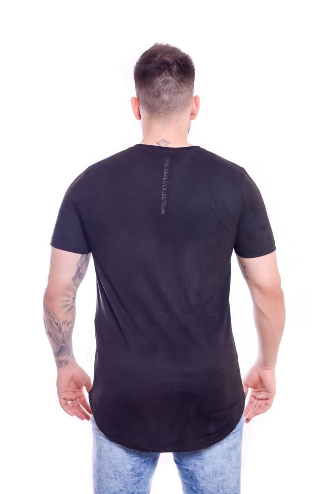 T Shirt Sued Velvety Long