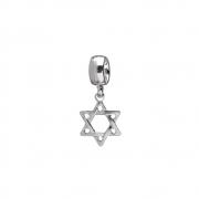 Berloque Estrela de Davi Vazado